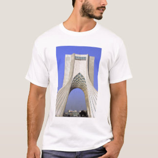 Asia, Iran, Tehran. Freedom Monument in Azadi T-Shirt