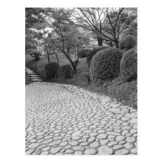 Asia, Japan, Hiroshima. Shukkei, en Garden Postcard