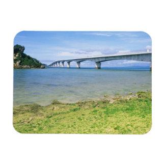 Asia, Japan, Okinawa, Kouri Bridge Magnet