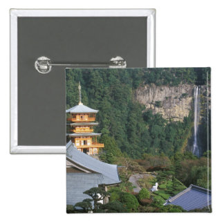Asia, Japan, Wakayama, Katsuura, Kumano Nachi Buttons