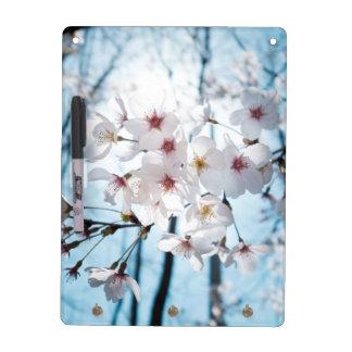 Asia Japanese Cherry Blossom Dry Erase Whiteboard