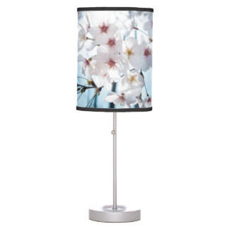 Asia Japanese Cherry Blossom Table Lamp