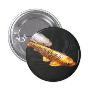 Asia Koi Fish 1 Inch Round Button