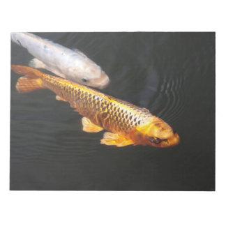 Asia Koi Fish Notepads