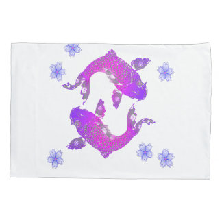 Asia Koi Fish Pillowcase
