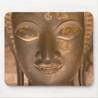 Asia, Laos, Vientiane, Bronze sculpture at Wat Mouse Pad