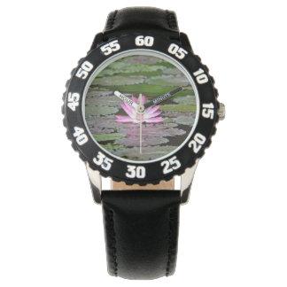 Asia Lotus Flower Wrist Watch