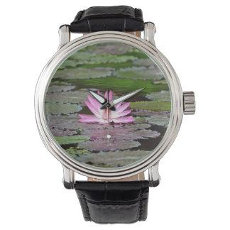 Asia Lotus Flower Wrist Watches
