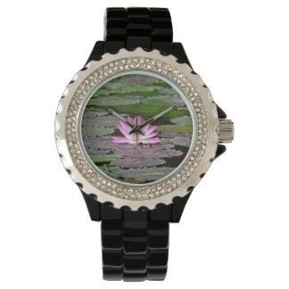 Asia Lotus Flower Wristwatch
