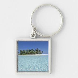ASIA, Maldives, Ari Atoll, Uninhabited Keychains