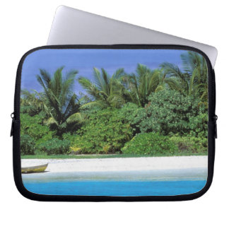Asia, Maldives. North Male Atoll Laptop Sleeves