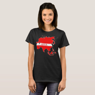 Asia Map Designer Shirt Apparel Sale; Man or Lady