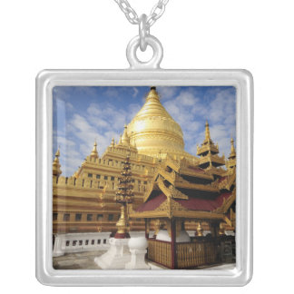 Asia, Myanmar (Burma), Bagan (Pagan). The Shwe 2 Silver Plated Necklace