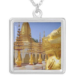 Asia, Myanmar (Burma), Bagan (Pagan). The Shwe 6 Silver Plated Necklace