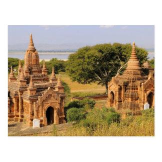 Asia, Myanmar (Burma), Bagan (Pagan). Various 2 Postcard
