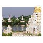 Asia, Myanmar (Burma), Mandalay. A buddhist Postcard