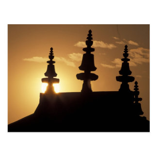 Asia, Nepal, Kathmandu. Bouddhanath Stupa. Postcard
