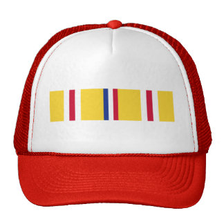 Asia-Pacific Campaign Ribbon Mesh Hat