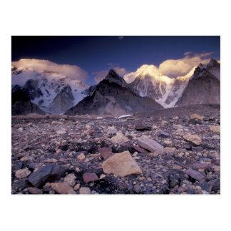 Asia, Pakistan, Karakoram Range, Broad and Postcard