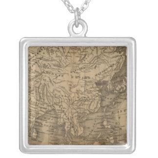 Asia Square Pendant Necklace