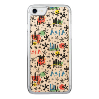 Asia | Symbols Pattern Carved iPhone 8/7 Case