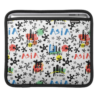 Asia | Symbols Pattern iPad Sleeve