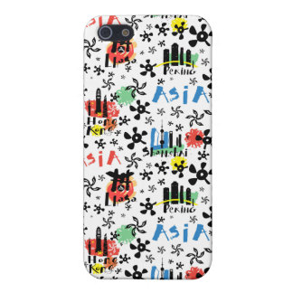 Asia | Symbols Pattern iPhone 5/5S Case