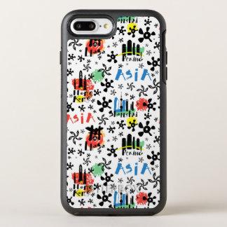 Asia | Symbols Pattern OtterBox Symmetry iPhone 8 Plus/7 Plus Case