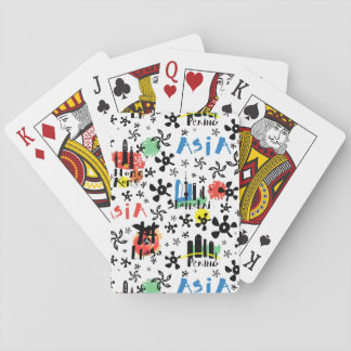 Asia | Symbols Pattern Playing Cards