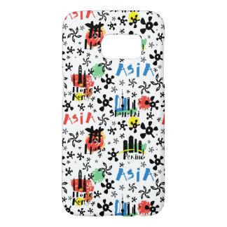 Asia | Symbols Pattern Samsung Galaxy S7 Case