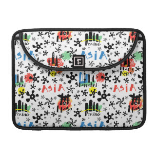 Asia | Symbols Pattern Sleeve For MacBook Pro