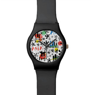 Asia | Symbols Pattern Watch