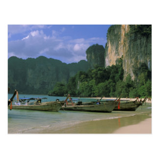 Asia, Thailand, Krabi. West Railay Beach, Postcard