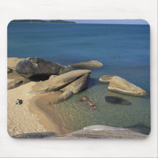 Asia, Thailand, Samui. Beach Mouse Pad