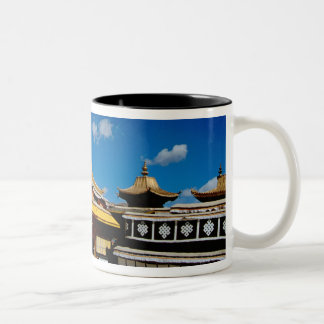 Asia, Tibet, Lhasa, Potala Palace aka Red Two-Tone Coffee Mug