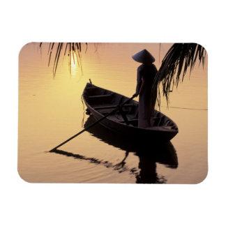 Asia, Vietnam, Mekong Delta, Can Tho. Evening Magnet