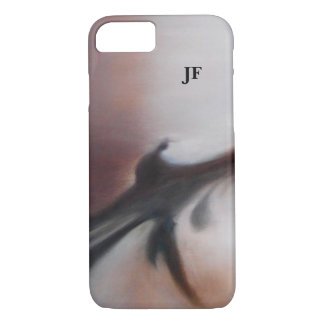 Asia Waters Brown and White Monogram Phone Case