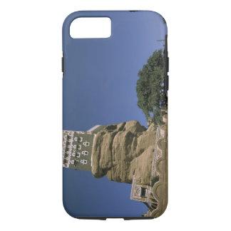 Asia, Yemen, Wadi Dhar. Rock Palace, or Dar Al iPhone 7 Case
