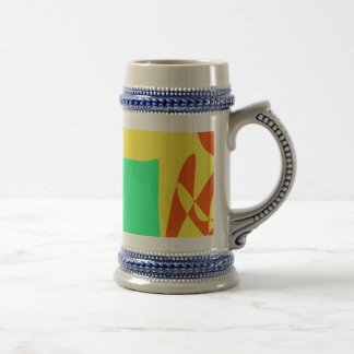 Asian Appetite Yellow Beer Steins