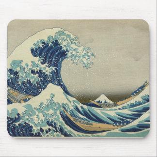Asian Art - The Great Wave off Kanagawa Mouse Pad
