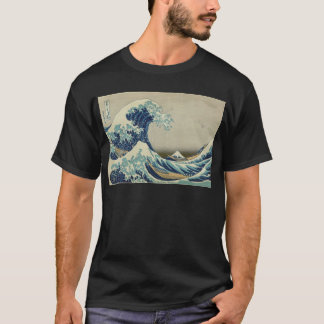 Asian Art - The Great Wave off Kanagawa T-Shirt