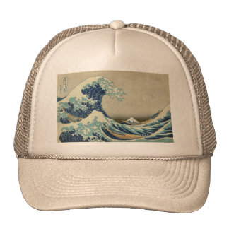 Asian Art - The Great Wave off Kanagawa Trucker Hat