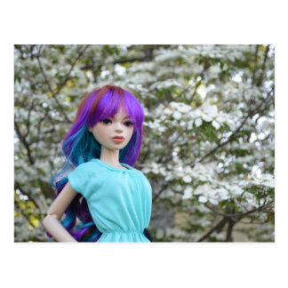 Asian Ball-Jointed Doll Mirodoll Mika Postcard