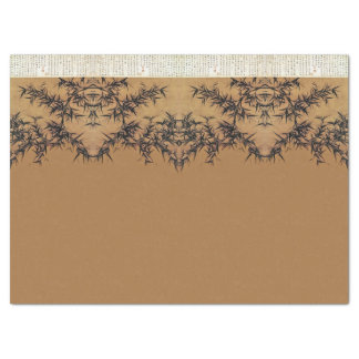 Asian Bamboo Leaves Calligraphy China Tissue Paper