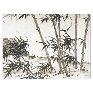 Asian Bamboo Leaves Chang Chinese Tissue Paper