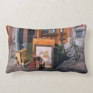 "Asian Bike 13"" x 21"" / 33x53 cm Lumbar Pillow"