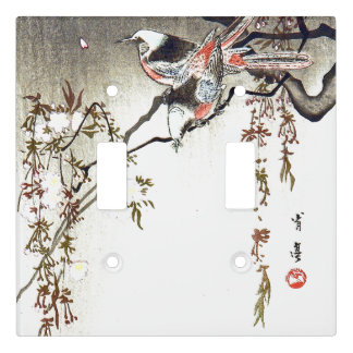 Asian Birds Floral Vine Animals Light Switch Cover