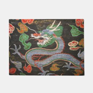 Asian Dragon Art South Korean Doormat