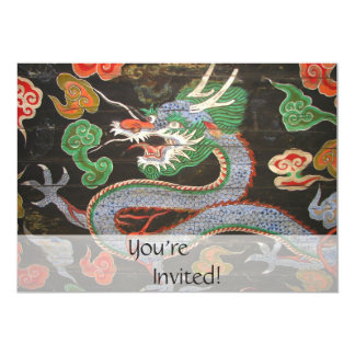 Asian Dragon Bright Colorful | Fantasy Art Card