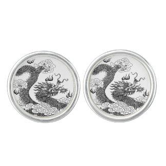 Asian Dragon Cufflinks